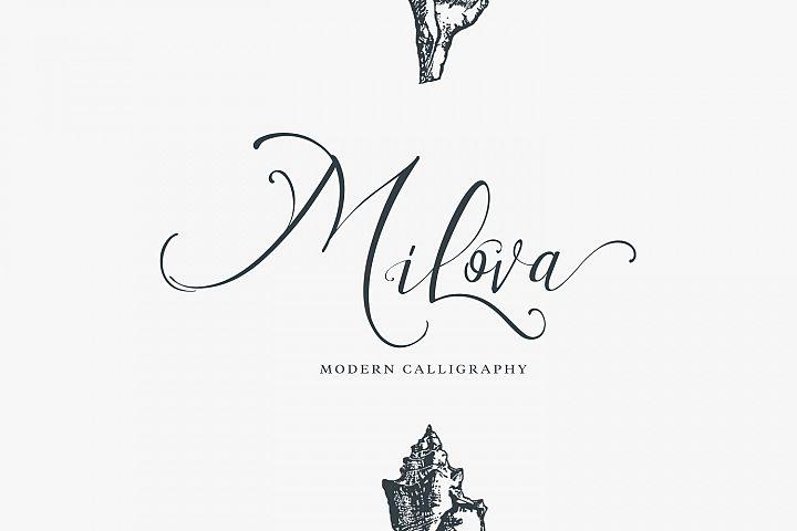 Milova | Modern Calligraphy