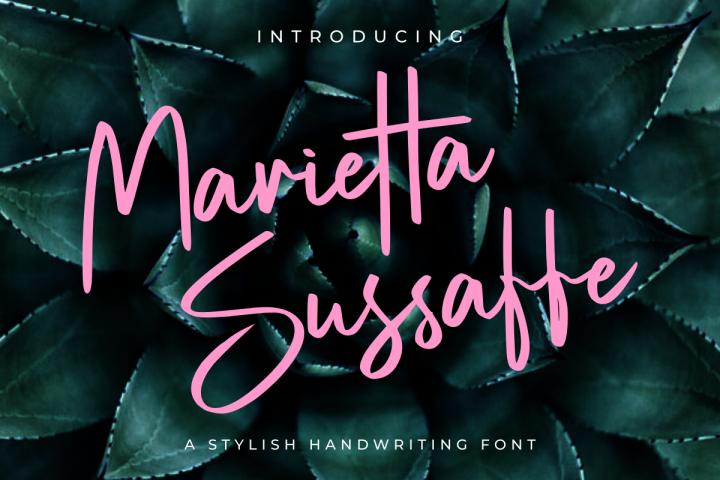Marietta Sussaffe