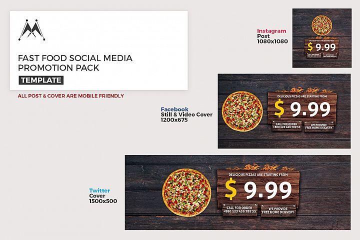 Food Promotion Social Media Pack