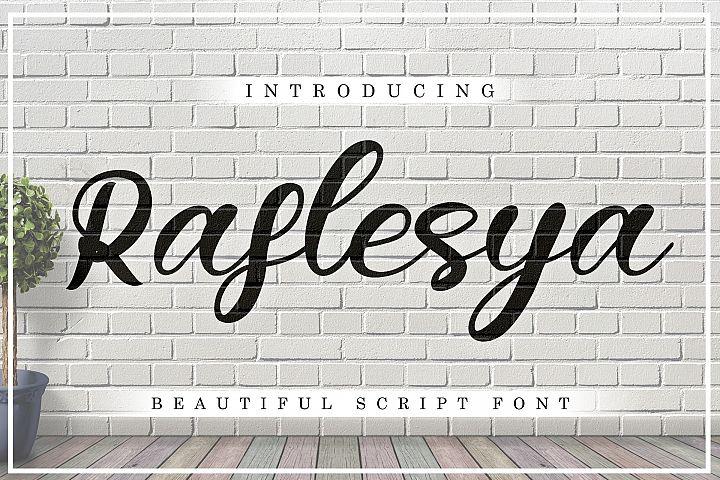 Raflesya modern script