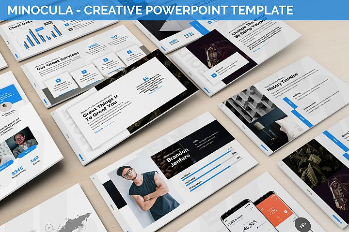 Minocula - Creative Powerpoint Template