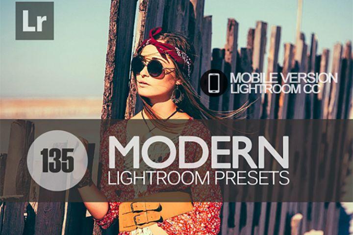 130 Modern Lightroom Mobile bundle Presets