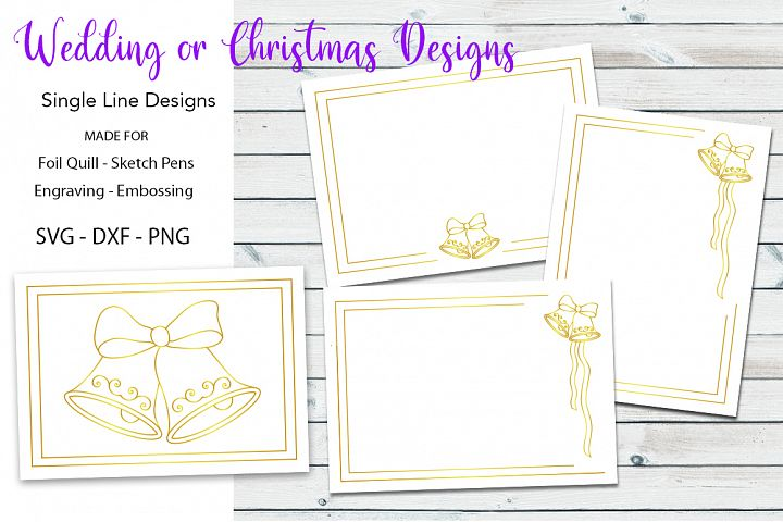 Wedding|Christmas Designs for Foil Quill|Engraving