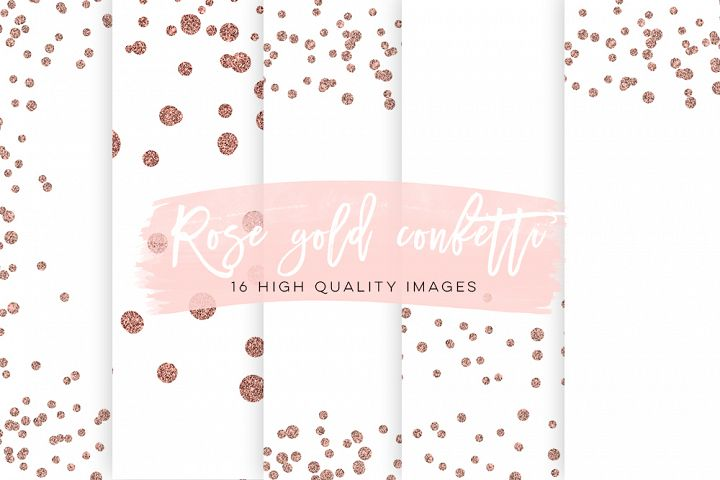 Rose Gold Scrapbook Paper - Free Design of The Week Font