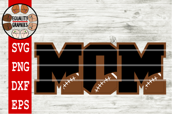 Football Mom SVGs | DXF | EPS | PNG | PDF