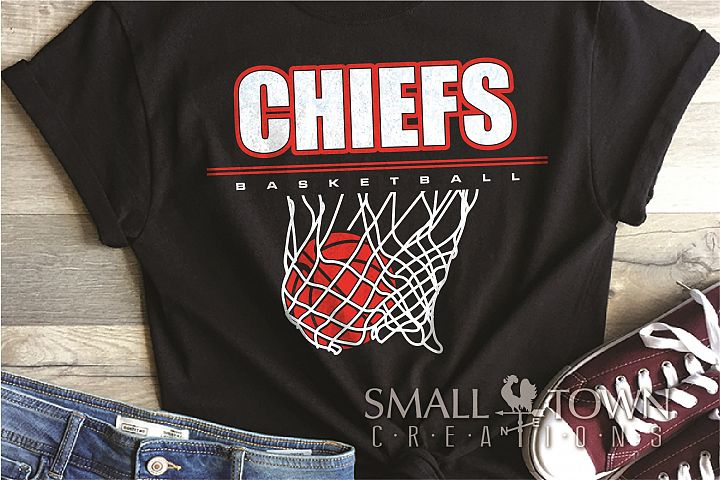Chief, basketball, Sports,Team, PRINT, CUT & DESIGN