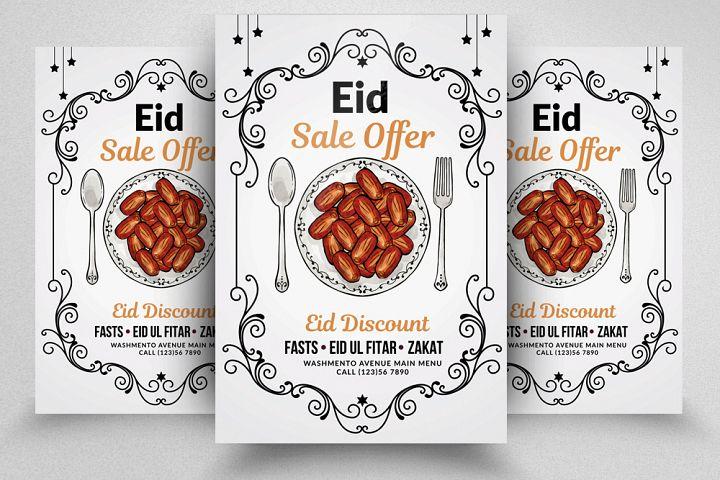 Ramadan Eid Flyer Template