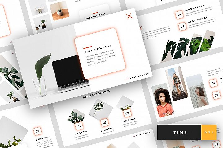 Time - Creative Google Slides Template