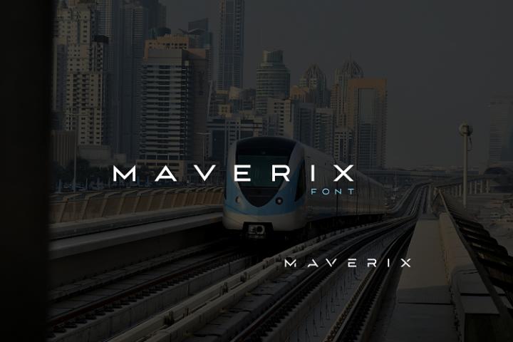 MAVERIX font
