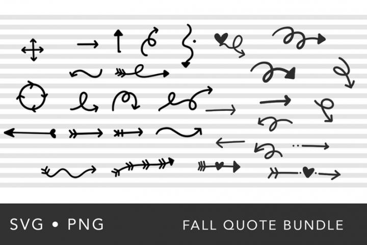 Hand-Drawn Arrow SVG Bundle