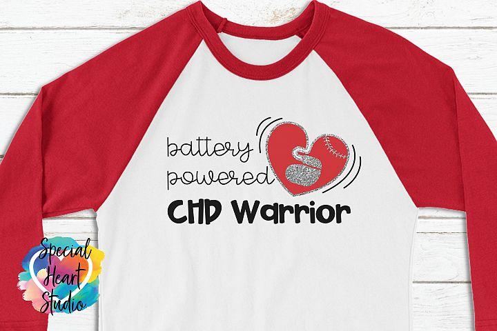 Battery Powered | Pacemaker |CHD Awareness SVG cut file