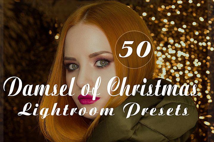 Damsel of Christmas Lightroom Presets