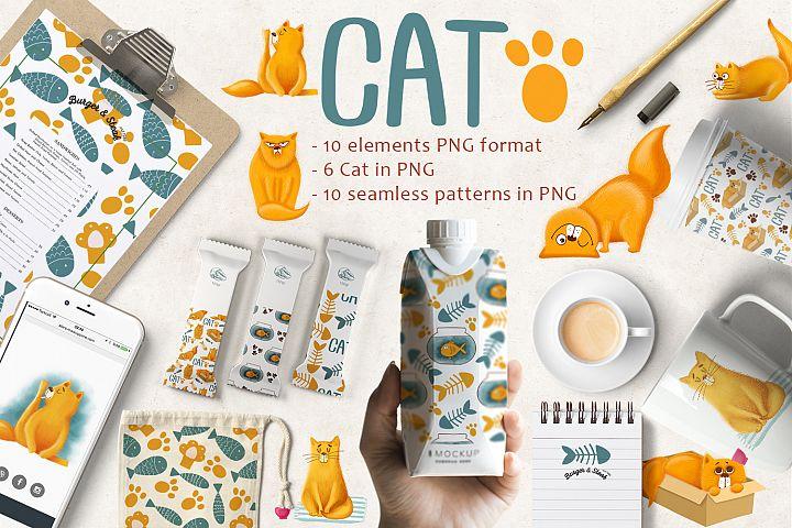 Cute Cat Patterns