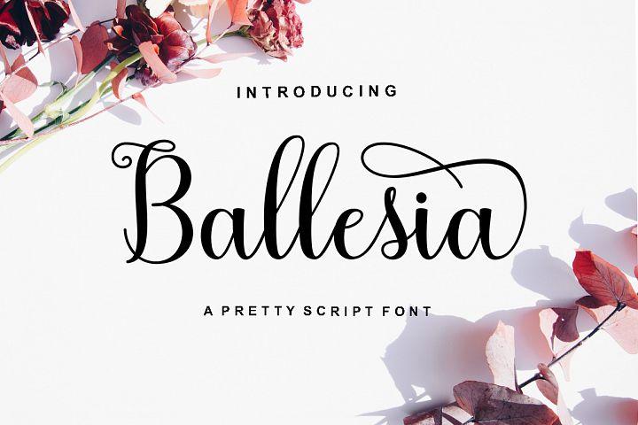 Ballesia Script