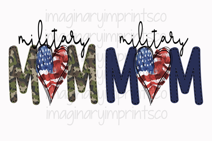 Military Mom sublimation png