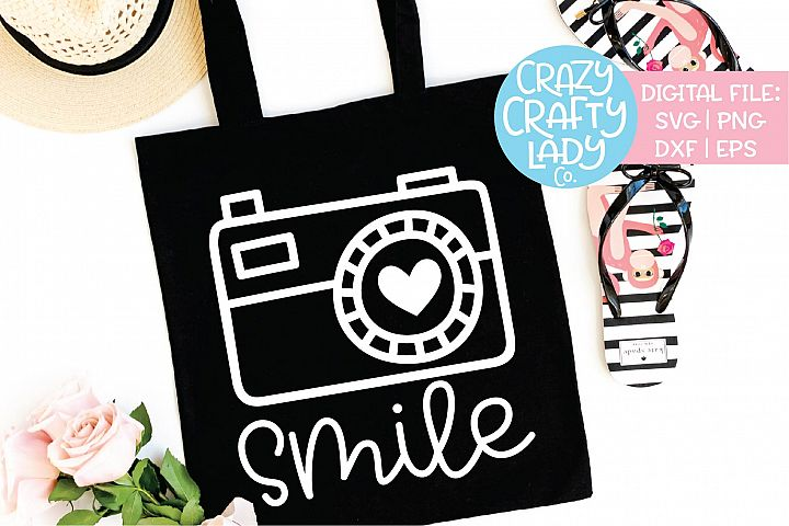 Smile Photography SVG DXF EPS PNG Cut File