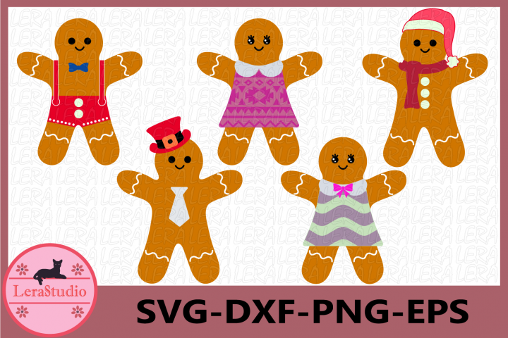 Gingerbread SVG, Gingerbread Christmas, Gingerbread Clipart