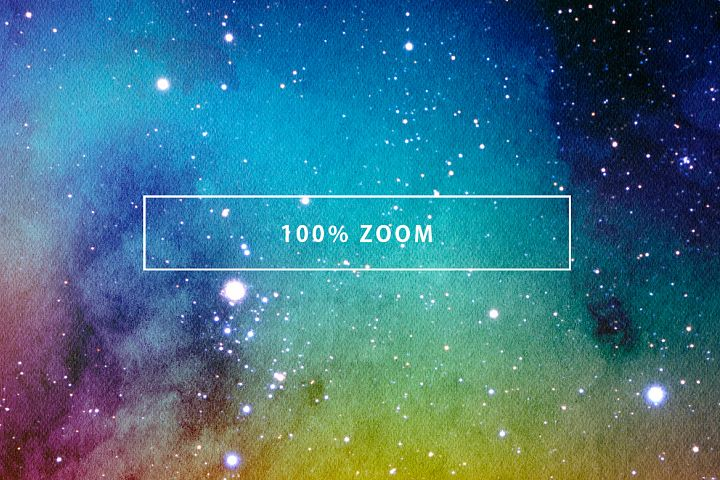 Space Watercolor Backgrounds - Free Design of The Week Design 1