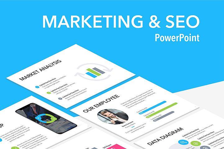 Marketing & SEO PowerPoint Template