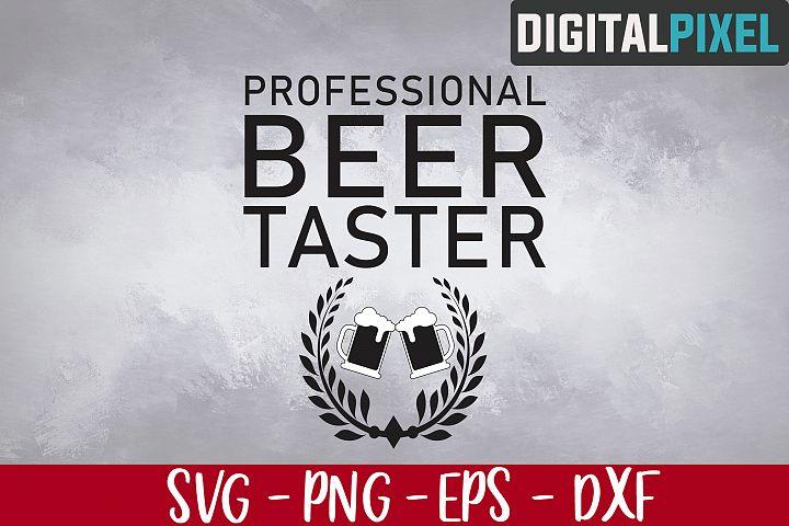 Beer Taster SVG PNG EPS Cricut Download Silhouette Cameo Svg