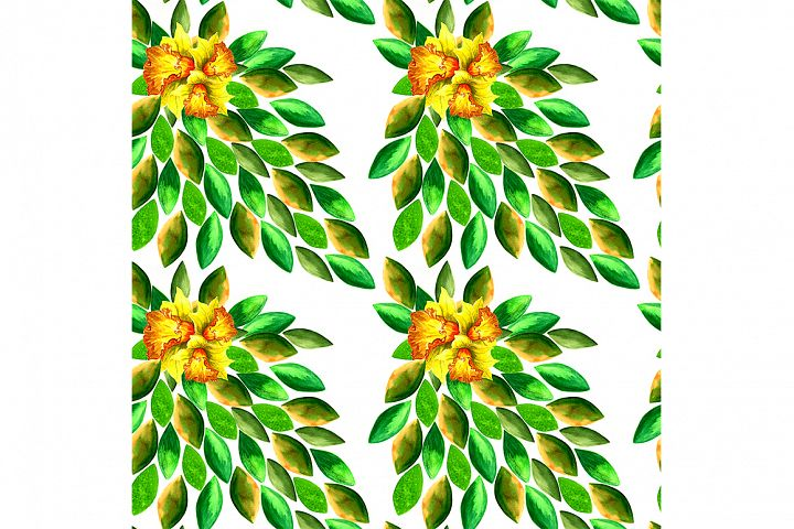 Abstract pattern, theme of the tropics