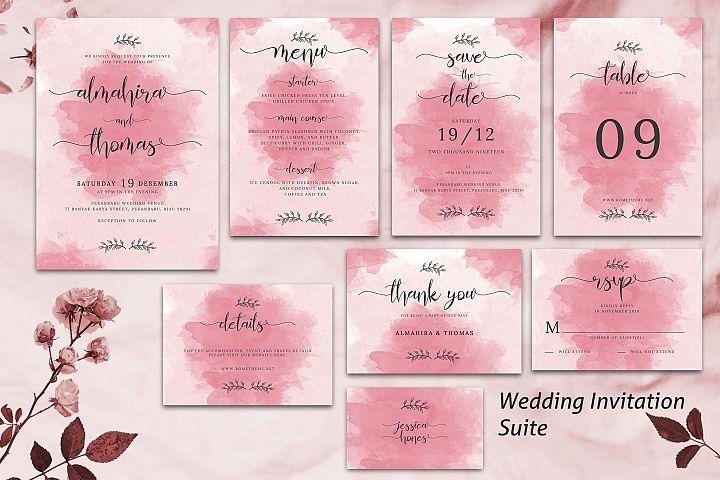 Wedding Invitation Suite vol. 01