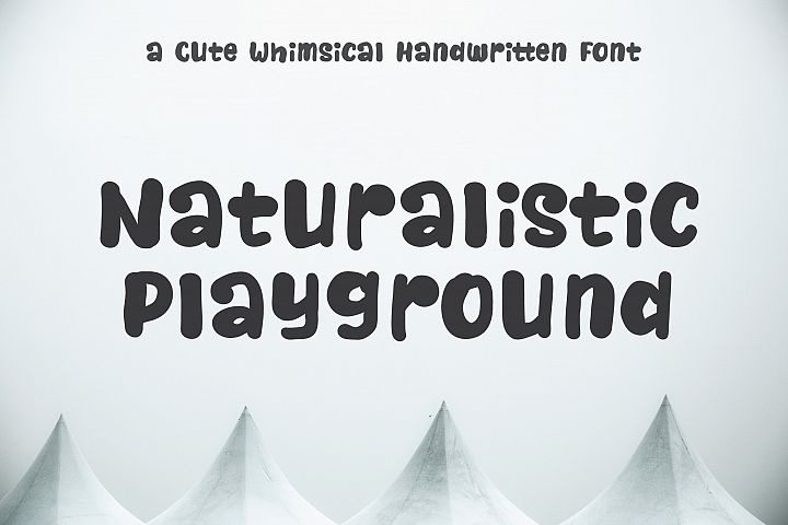 Naturalistic Playground | Cute Handwriting