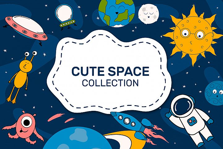 Cute Space collection