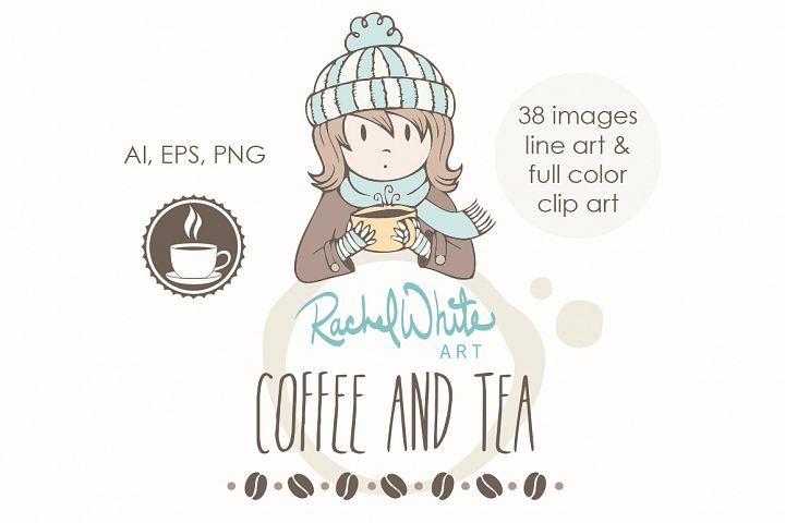 Coffee & Tea - Free Design of The Week Font
