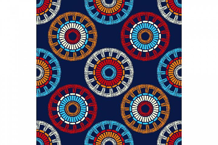 Polka dots ornament. Set of 10 seamless patterns.