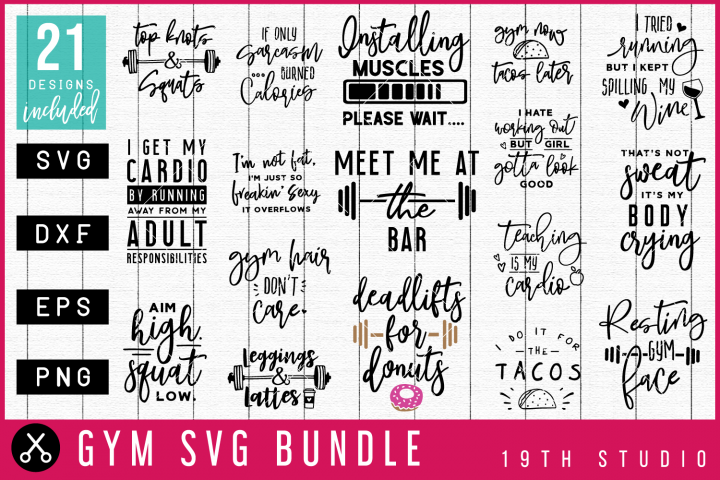 Gym SVG Bundle| MB44