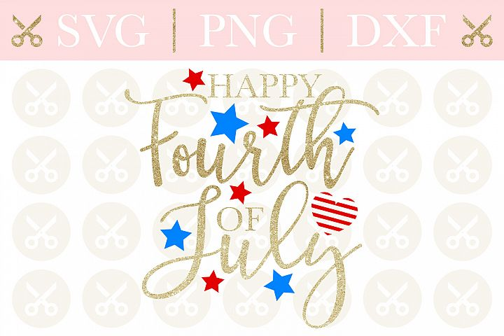 4th Of July Svg Happy Fourth Of July Svg Happy 4th Of July