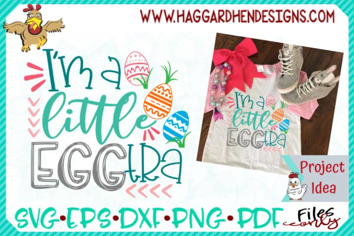 Im a little Eggtra SVG