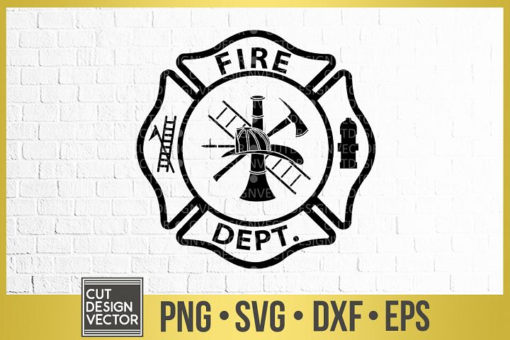 Fire Department Logo SVG