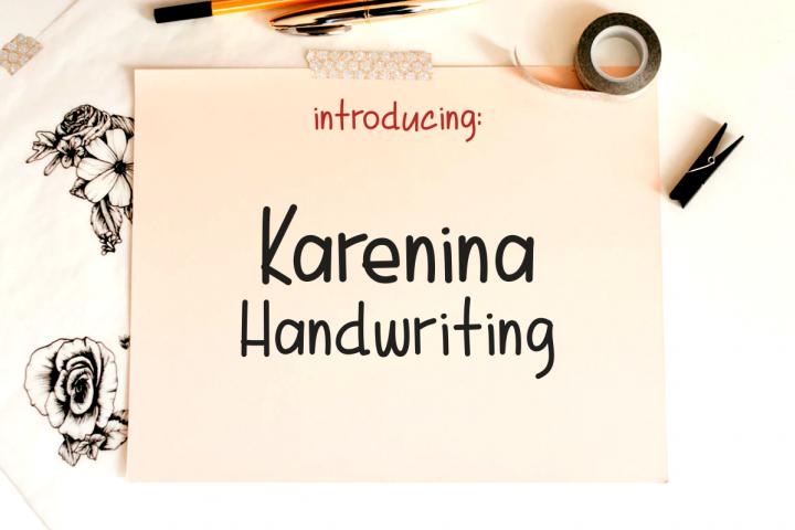 Karenina Handwriting