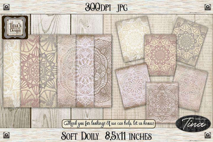 So Soft Doily Card Making Antique Dainty Feminine 111218SD
