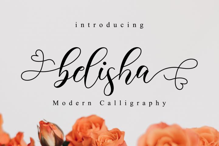 Belisha Script