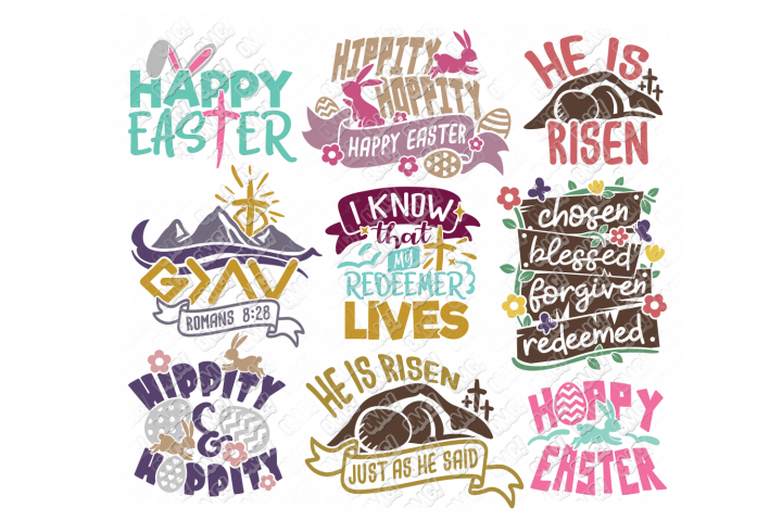 Easter Quotes SVG Phrases Shirt in SVG, DXF, PNG, EPS, JPEG