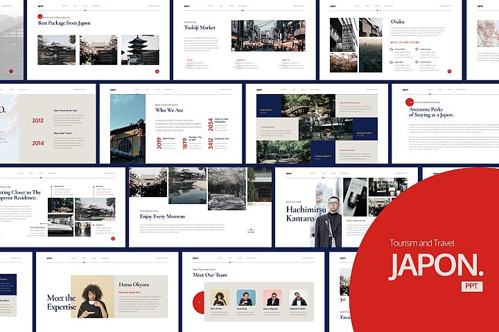 Japon Tourism Presentation Powerpoint