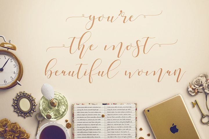 Shania Sweet Calligraphy Modern - Free Font of The Week Design4