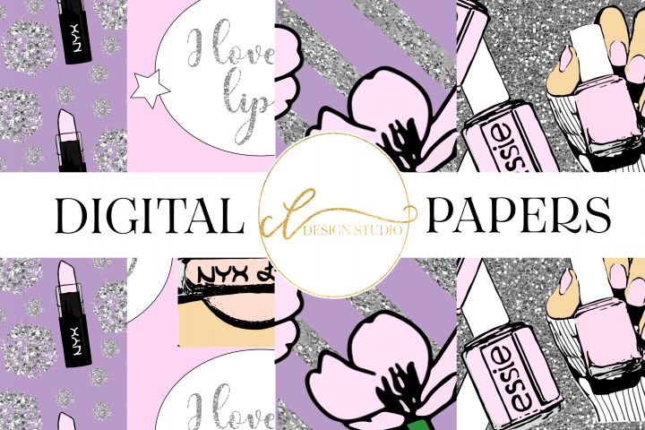 Spring Fling Digital Papers
