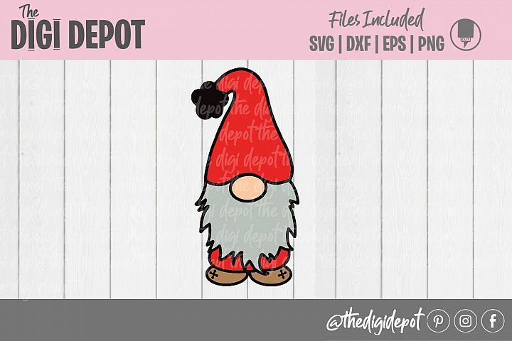 Gnome SVG, Basic Gnome SVG, Gnome Clip Art, Gnome Cutfile