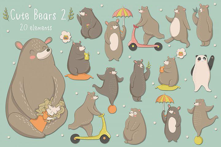 Cute Bears 2
