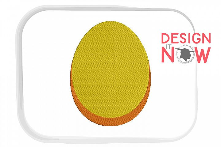Easter Egg Embroidery Design, Easter Embroidery Pattern