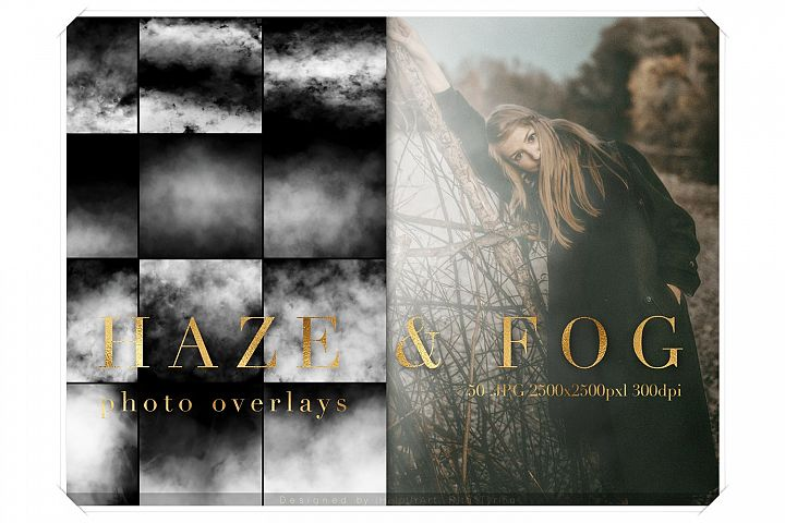 Real Fog Photo Overlay - Haze Overlays Pack