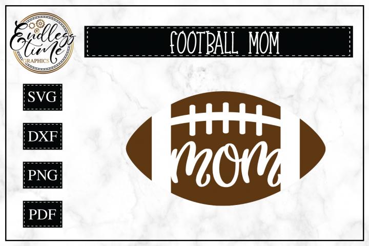 Football Mom SVG Cut File