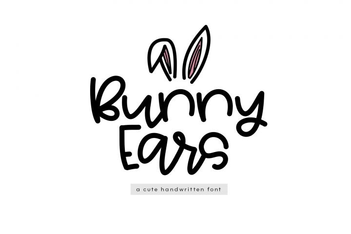 Bunny Ears - A Fun Handwritten Script Font