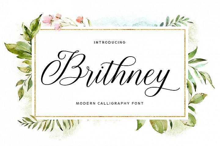 Brithney Script