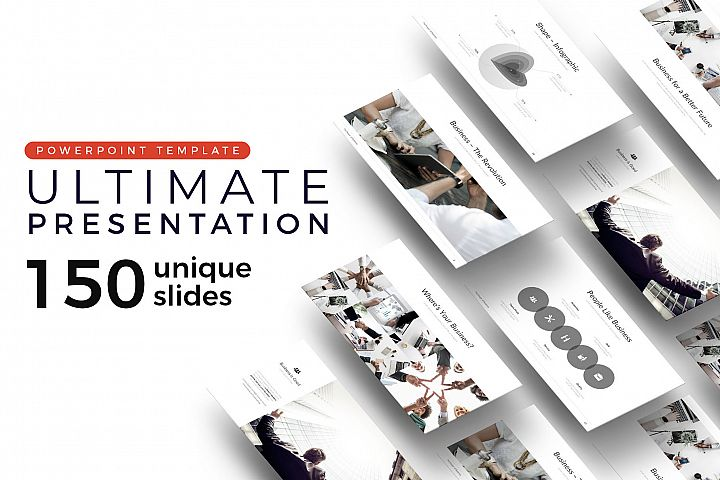 Ultimate Pitch Deck Presentation Template