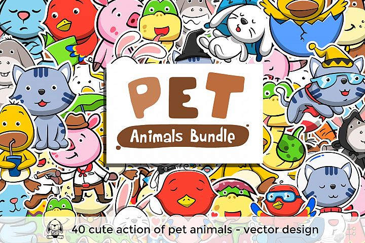 Pet Animals Bundle